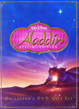 Aladdin (Disney Special Platinum Edition Collector's Gift Set) DVDs-Good Conditi