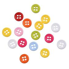 12 Grams -Mixed Colors Resin Buttons Fit Sewing or Scrapbooking 9mm - N0135
