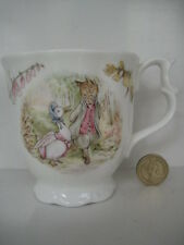 RARE Royal Albert England Beatrix Potter Jemima Puddleduck and Foxy Tazza da tè