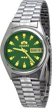 Orient BEM6Q004X Men's Standard Stainless Steel Green Dial Automatic Watch