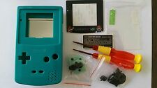 CARCASA COMPLETA+PANTALLA COMPATIBLE GAME BOY COLOR MARIO GREEN NEW/NUEVO