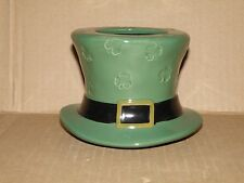 YANKEE CANDLE LUCKY SHAMROCKS ST. PATRICK'S  DAY JAR CANDLE SHADE NWTS RETIRED