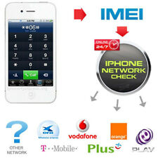 Fast iPhone IMEI Checker Rete & Carrier controllare lo stato di blocco SIM Controllo