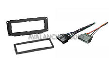 Chrysler Dodge Jeep Dash Car Stereo Radio Installation Kit W/ Wiring Harness Set