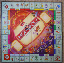 2000 Monopoly Looney Tunes Classic Cartoon Edition Game Board
