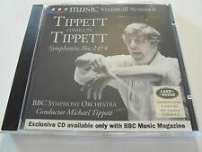 BBC Music-Tippett Conducts Tippett / Volume III / No 6 (CD Album) Used Very Good