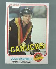 1981-82 O-Pee-Chee Colin Campbell #333 (Buy 5 $3.00Pick 2 Free)