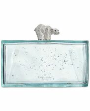 Kate Spade Caution to the Wind Polar Bear on Ice Clutch NEW