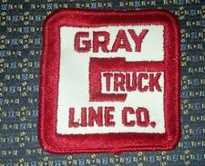 GRAY TRUCK LINE CO. Sew-On Patch