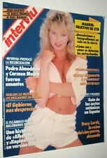 INTERVIU # 723 / TRACI LORDS Vintage spanish magazine March 1990 Complete!!!! NM
