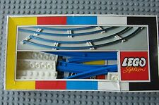 NEW Lego 151 CURVED TRAIN TRACK 1966' Rare Pat. Pending