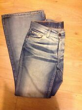 Levi's 544 04 Jeans Bnwot Size W27 L32 Faded Flared Rrp £115
