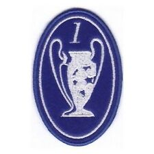 [Patch] CHAMPIONS LEAGUE numero 1 replica cm 5 x 7,5 toppa ricamata ricamo -183