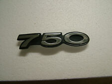 KAWASAKI H2 750 AND H2B - 74 SIDECOVER BADGE