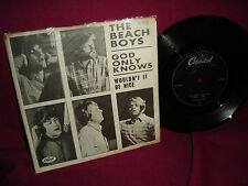 Beach Boys God Only Knows / Wouldn't It Be Nice (Holland Issue) 45 RPM Vinyl