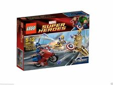 LEGO Super Heroes Captain America's Avenging Cycle (6865) RETIRED NEW