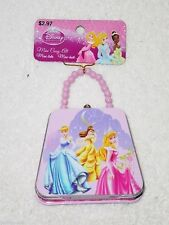 Collectible Cinderella Mini Pink Carry-all Tin Lunch Box ~ New