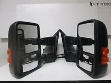 2008-2015 F250/F350 SUPER DUTY TOWING SIGNAL MIRROR PAIR SET LEFT + RIGHT OEM #1