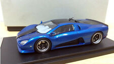 1/43 SSC Ultimate Aero Limited Diecast Model Car Blue color - Handmade
