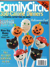 Family Circle 2011 Halloween Recipes Apples Gourd Candlesticks Molly Shannon