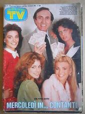 TV SORRISI E CANZONI  n°11 1983 Luciano Pavarotti Starky & Hutch   [GS48]