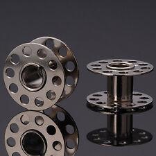 30 Nähmaschinenspulen - Spule Pfaff Nähmaschine - 20 x 11 mm Spulen Metall NEU