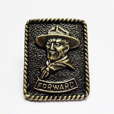 Boy Scout Woggle Baden Powell-Forward Neckerchief Slide Item No.WK102