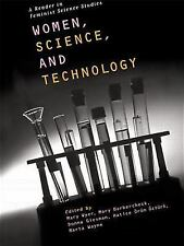 Women, Science and Technology: A Reader in Feminist Science Studies-ExLibrary