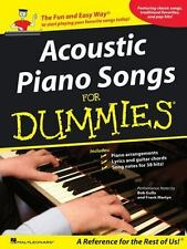 Acoustic Piano Songs for Dummies-ExLibrary
