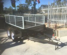 8x5 heavy duty budget sepcial tandem with 2 ft 600mm cage