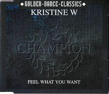 Kristine W - Feel What You Want *MS-CD*NEU*