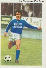 N°258 MICHEL SENECHAL # RC.STRASBOURG STICKER AGEDUCATIF FOOTBALL MATCH 1973