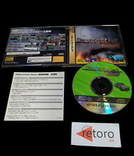 DESTRUCTION DERBY Sega Saturn JAPONES Psygnosis Buen Estado segasaturn