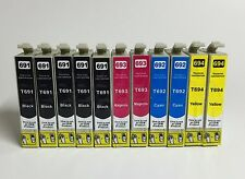 11 Ink Cartridges for Epson 69 WorkForce 500 610 615 1100 Stylus CX7000F CX7400