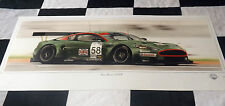 ASTON MARTIN DBR9 SEBRING 12 HOURS GT1 2005 NEW PAINTING PRINT ART CHRIS DUGAN