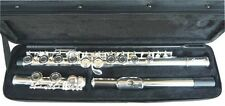 NEW  SILVER BAND C FLUTE W/CASE.5 YEARS WARRANTY.