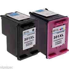 HP 301XL HP301XL COLOUR & BLACK REFILLED INK FOR ENVY 4504 5530 NEW GENERATION
