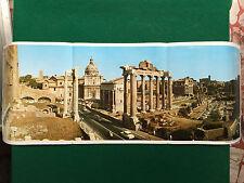 AF21 Poster Clipping Werbung 78x29 cm - L'ITALIA IN FOTORAMA IL FORO ROMANO
