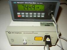 JDS Uniphase BBS1550+2FA20 Broadband Laser Source, Tested in Working Condition