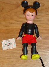 "Mickey Mouse Boy Doll MOUSEKETEER 5.25"" by Madame Alexander McDonalds Toy"