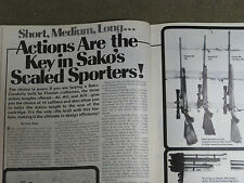 SHOOTING TIMES TEST S&W 1500 RIFLE, SAVAGE 99, SAKO RIFLES & RUGER 22 PISTOL