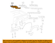 TOYOTA OEM 14-15 Tacoma Pick Up Box-Decal sticker Left 7599604070A0