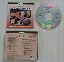 RARE CD ALBUM SPOTLIGHT ON GUITAR 16 TITRES 1990 MADE IN USA