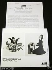 MARGARET LENG TAN 'THE ART OF THE TOY PIANO' 1997 PRESS KIT--PHOTO