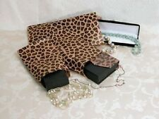 100 x Leopard Print Paper Gift Bags (6x9inches)