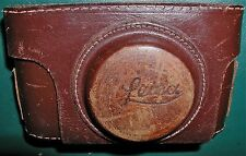 Leica I, II , III? Case, early type, short front, Very Rare, EX-, FREE Ship USA