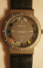 Rare Vintage Breil Target Watch Swiss Quartz