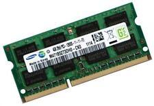 4GB Speicher für Notebooks mit Core i7-3920XM SO DIMM RAM Samsung DDR3 1600 Mhz