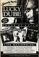 31/10/92PGN16 LUKY DUBE : HOUSE OF EXILE ALBUM ADVERT 7X5""