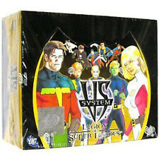MARVEL / DC Vs System TCG - Legion of Super Heroes Cards Booster Box #NEW